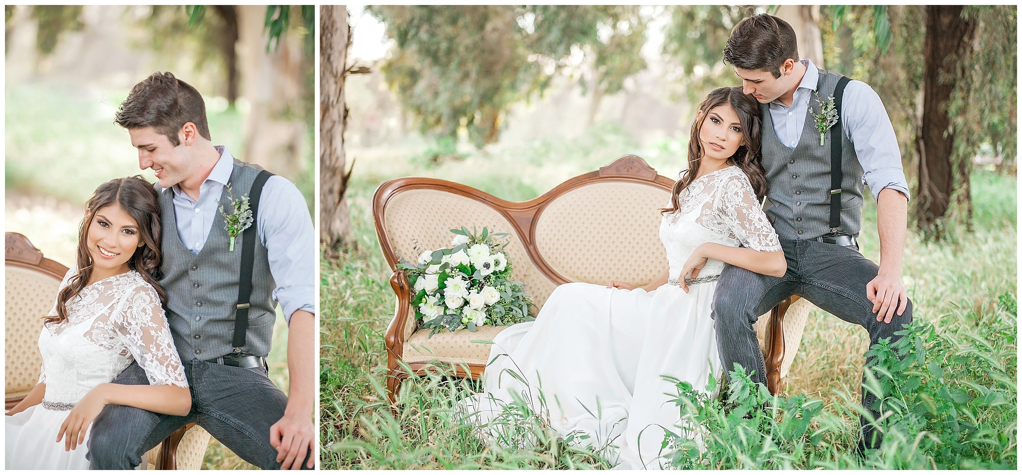 Beautiful Styled Wedding Shoot Modesto Wedding